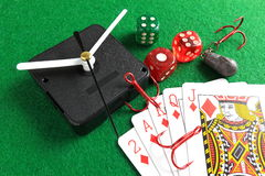 Gambling addiction Royalty Free Stock Photography
