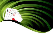 Gambling background Royalty Free Stock Photo