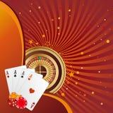 Gambling background Royalty Free Stock Photo