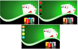Gambling background Royalty Free Stock Image