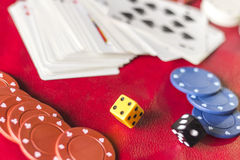 Gambling Background Dice Stock Photos