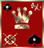 Gambling background Stock Images