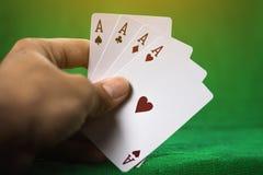 Gambling card. royalty free stock photos