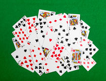 Gambling cards Stock Photography