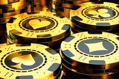 Gambling and casino concept Stock Photos