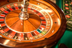 Gambling in casinos. Royalty Free Stock Photography