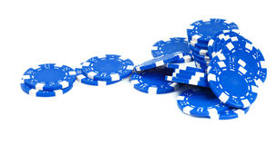 Gambling Chips Stock Photography