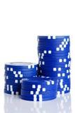 Gambling Chips Royalty Free Stock Photography