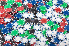 Gambling Chips Royalty Free Stock Images