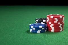 Gambling chips background Royalty Free Stock Image
