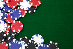 Gambling chips background Royalty Free Stock Photo