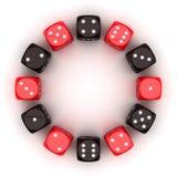 Gambling circle Stock Images