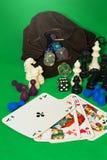 Gambling collection-II- stock photos