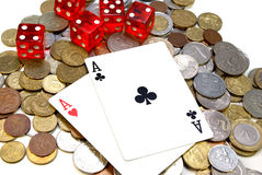 Gambling concept Royalty Free Stock Photos