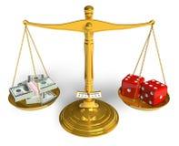 Gambling concept Royalty Free Stock Photos