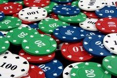 Gambling Counters Stock Photos