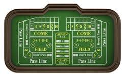 Gambling, craps game Stock Photo