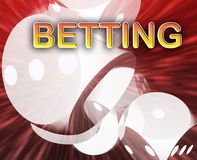 Gambling dice betting background. Gambling dice betting luck concept background illustration abstract Stock Images