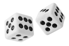 Gambling dices Stock Photo