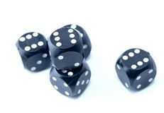 Gambling dices Royalty Free Stock Photo