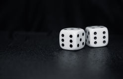Gambling dices Royalty Free Stock Images