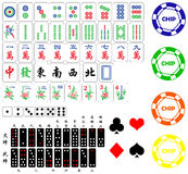 Gambling Elements Royalty Free Stock Photos