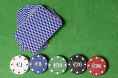 Gambling Fund Royalty Free Stock Images