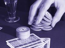 Gambling game stock image