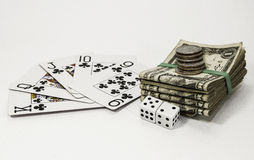 Gambling Games Royalty Free Stock Images