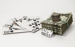 Gambling Games Royalty Free Stock Images