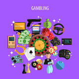 Gambling And Games Concept Royalty Free Stock Image