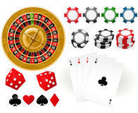 Gambling Goodies Stock Images