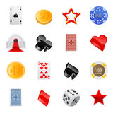 Gambling icon Stock Photo