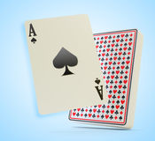 Gambling icon Stock Photography