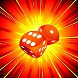 Gambling Illustration Stock Image