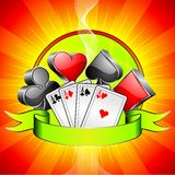 Gambling illustration Stock Images