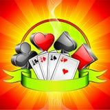 Gambling illustration stock illustration