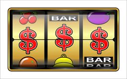 Gambling illustration Royalty Free Stock Images