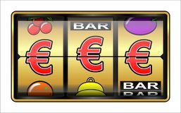 Gambling illustration Royalty Free Stock Photos