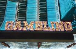 Gambling Lights stock photos