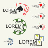 Gambling Logo Stock Photo