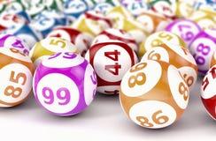 Gambling, lotto game Stock Photos