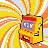 Gambling machine Royalty Free Stock Images
