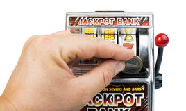 Gambling machine Stock Images