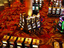 Gambling Machines Las Vegas Royalty Free Stock Image