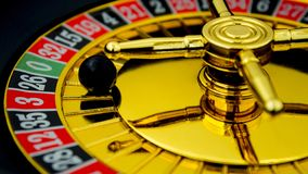Gambling for money in the casino stock images