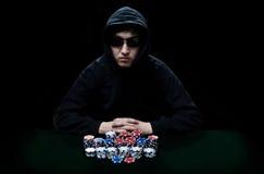 Gambling player Stock Image