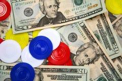 Gambling pot Royalty Free Stock Image