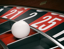 Gambling, roulette game Stock Images