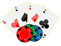 Gambling symbol Royalty Free Stock Photo